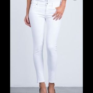 Citizens of Humanity Avedon Low Rise Skinny white